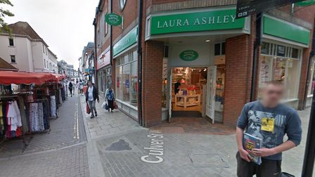 Laura Ashley store in Colchester high street Picture: GOOGLEMAPS