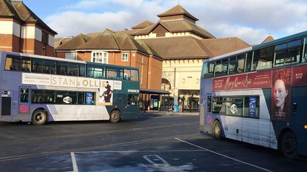 Suffolk is bidding for support for the county's bus services. Picture: PAUL GEATER