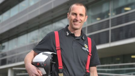 Chief Fire Officer Mark Hardingham Picture: SARAH LUCY BROWN