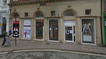 The Bury St Edmunds branch of HSBC is reportedly closed until March 31 due to a deep cleaning follow