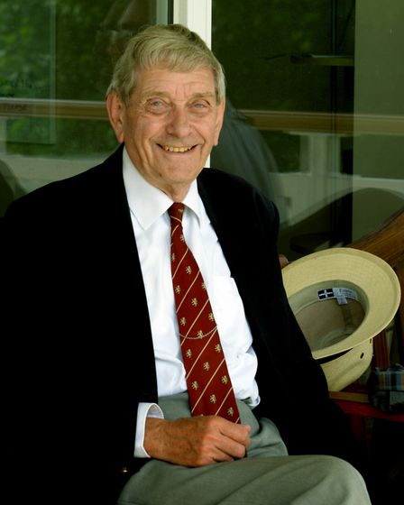 Norman Atkins was a vital part of cricket in Suffolk. Picture: SUFFOLK CCA