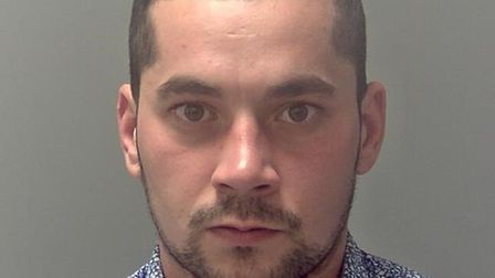 Dan-constantin Caraza was jailed for 40 months at Ipswich Crown Court Picture: SUFFOLK CONSTABULARY