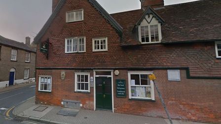 Suffolk police are appealing for information after a knife-wielding burglar robbed a resident in the