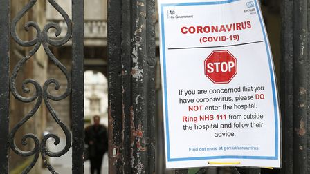 The latest coronavirus case figures have been released by the Department of Health and Social Care P