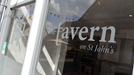 The Tavern in St John's in Bury St Edmunds was broken into overnight Sunday Picture: SARAH LUCY BRO