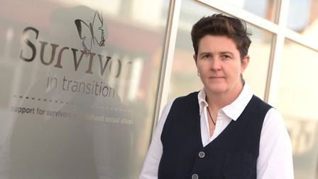 Fiona Ellis, founder of Survivors in Transition. Picture: SARAH LUCY BROWN