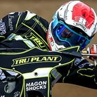 Jason Crump in Witches colours Photo: STEVE WALLER