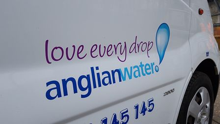 Anglian Water workers are on site Picture: RACHEL EDGE