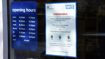 The numbers of cases of coronavirus in Suffolk continues to rise. Picture: CHARLOTTE BOND