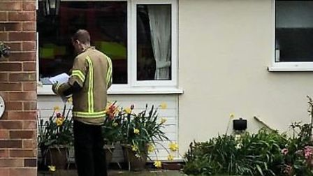 Fire crews visit people in Suffolk over the weekend Picture: Ian Bowell/Suffolk Fire and Rescue