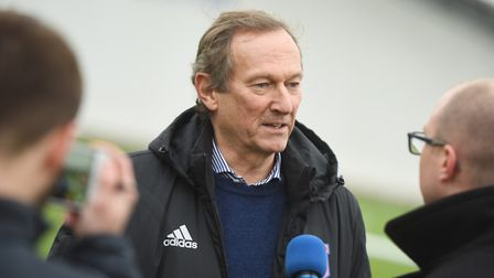 Former Ipswich Town managing director Ian Milne. Photo: Archant