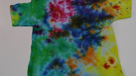 Kids will love these tie dye t-shirts from EJaRt Creative Picture: EJaRt Creative