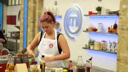 Hannah Gregory from Bury St Edmunds made it to the final 16 of the series Picture: BBC