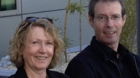 Prof Alison Booth has been left 9,000 miles apart from her husband, Prof Tim Hatton, due to the coro