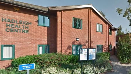Hadleigh Health Centre will be open over the Easter weekend - but patients must not turn up in perso