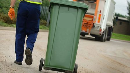 East Suffolk Council has suspended the collection of garden waste due to the Covid-19 crisis Picture