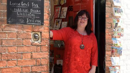 Jules Button has been sending free books to those in need Picture: SARAH LUCY BROWN