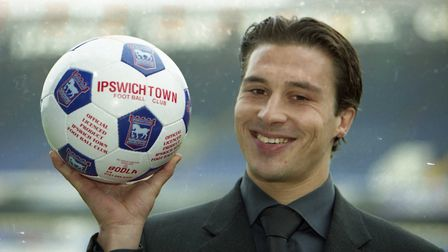 Martijn Reuser signed for Ipswich on loan from Ajax in March 2000