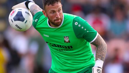 Former Ipswich Town keeper Scott Loach has been a key man for promotion-chasing National League side