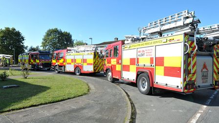 Firefighters were sent to the scene (stock image) Picture: SARAH LUCY BROWN