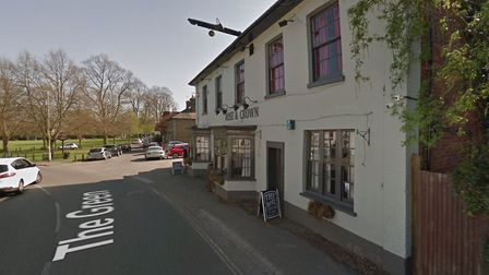 Two men were stabbed outside the Rose and Crown pub in Writtle, near Chelmsford. Picture: GOOGLE MAP