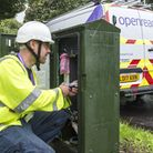 An Openreach engineer at work Picture: BILLYPIX