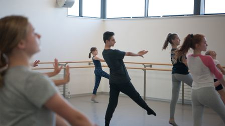 DanceEast is staging dance classes you can take part in at home Photo: Chris Nash