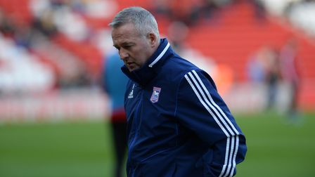 Ipswich Town slipped from 1st to 10th in the League One table under Paul Lambert at the start of 202
