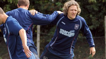 Jimmy Bullard was marginalised towards the end of his time at Ipswich Town. Photo: Archant