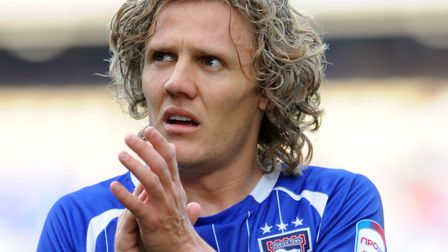 Jimmy Bullard admits he felt the pressure during his second spell at Ipswich. Photo: Archant
