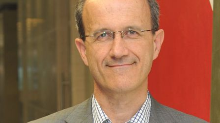 EDF Energy managing director for nuclear development Humphrey Cadoux Hudson Picture: EDF ENERGY