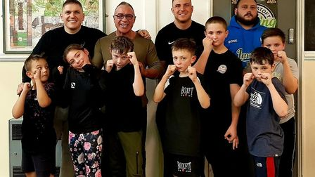 Lowestoft Boxing Academy who won the Suffolk High Sheriff's New Group of the Year award, sponsored b