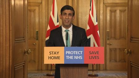 Chancellor Rishi Sunak has announced the new measures to support the self-employed Picture: PA VIDEO