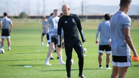 Richard Chaplow is now coaching at Orange County in California. Picture: ARCHANT