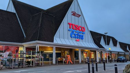 Tesco supermarkets have now introduced an item limit to their online orders Picture: HOLLY HUME