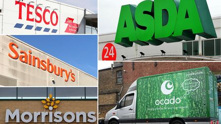 Supermarkets across Suffolk and Essex are all limiting purchases to prevent panic buying Picture: PA