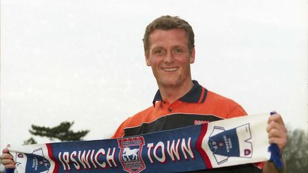 After impressing through his loan spell, Jim Magilton joined Ipswich on permanent deal in March 1999