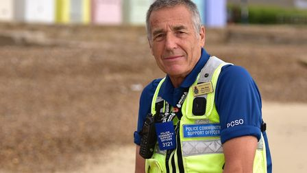 John Hood won the Police Hero award at the Stars of Suffolk awards in 2016 Picture: Sarah Lucy Brow