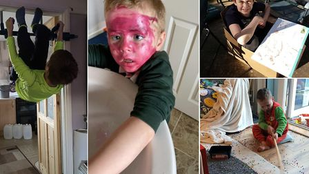 Your hilarious homeschooling stories after week one of lockdown. Picture: DANIELLE MCCARTHY/ EM COLL