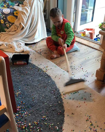 Tracey Poll's 4-year-old got bored during quiet activity time, upset her older children and proceede