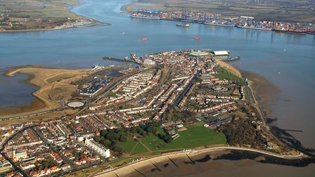 Aerial view of Harwich, which the town's heritage society wants to celebrate with a new museum Pictu