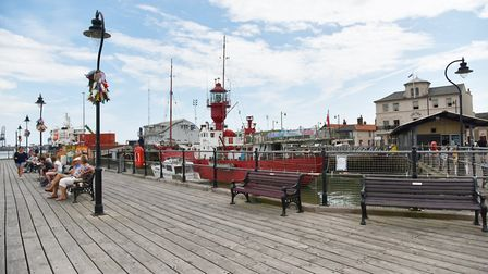 A busy Harwich harbour - the Harwich Society wants to celebrate the town's maritime history with a n