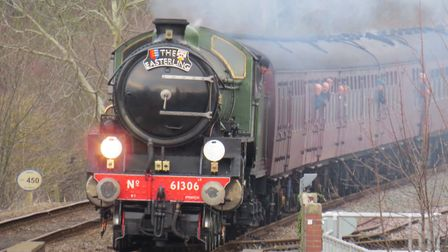 Mayflower is set to pull a special train from East Anglia to Lincoln in August. Picture: Alison Bala
