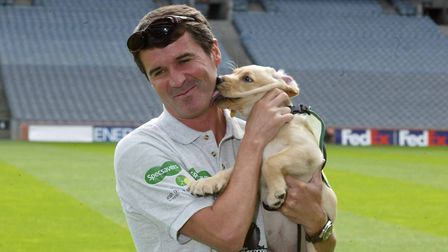 Roy Keane famously loves dogs - the one big thing he and then-Ipswich Town reporter Carl Marston had