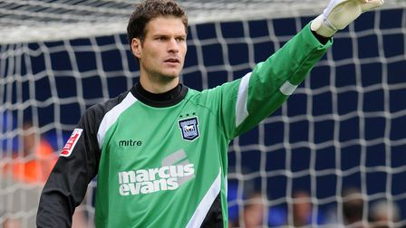 Asmir Begovic, during his loan spell at Ipswich Town in late 2009. Columnist Carl Marston compared h