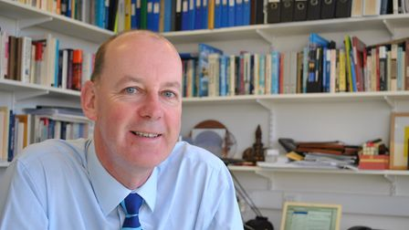 Professor Richard Harvey, academic director of admissions at the University of East Anglia Picture: