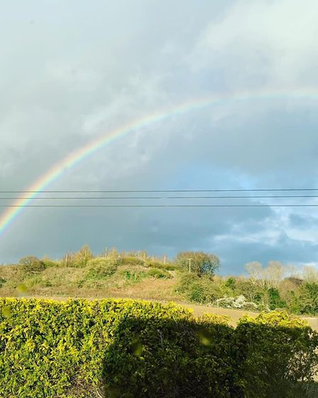 This photo shows the skies over Bramford Picture: SAMANTHA PEMBERTON