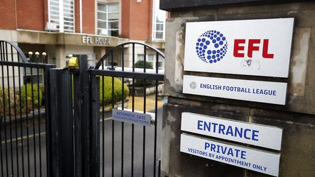 The EFL have announced that the 2019/20 season has been postponed indefinitely due to the coronavriu