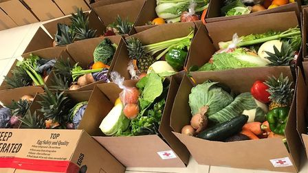 Fred. Olsen Cruise Lines has donated more than 17,000kg of chilled fruit and vegetables to charities