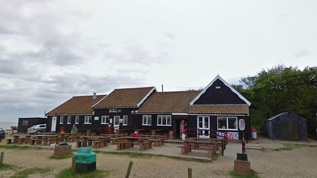 Flora Tea rooms in Dunwich was broken into after the lockdown announcement. Picture: GOOGLE MAPS